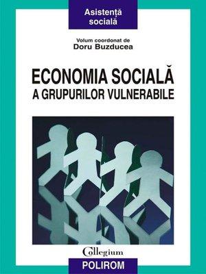 cover image of Economia socială a grupurilor vulnerabile
