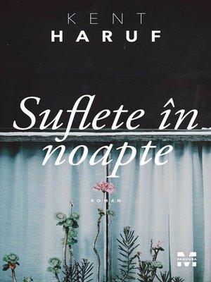 cover image of Suflete în noapte