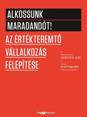 cover image of Alkossunk maradandót!