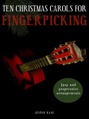 cover image of 10 Christmas Carols for Fingerpicking