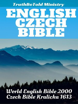 cover image of English Czech Bible