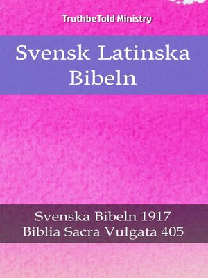 cover image of Svensk Latinska Bibeln