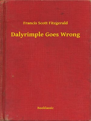 cover image of Dalyrimple Goes Wrong