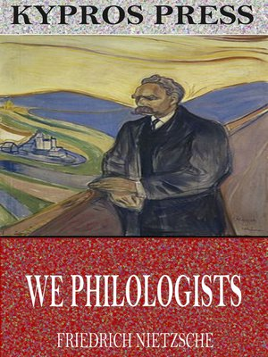 cover image of We Philologists