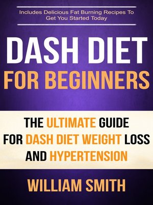 cover image of Dash Diet For Beginners