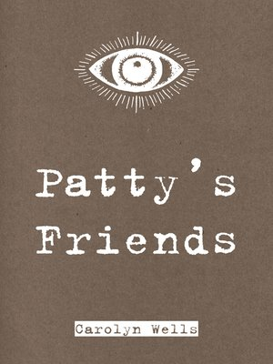 cover image of Patty's Friends