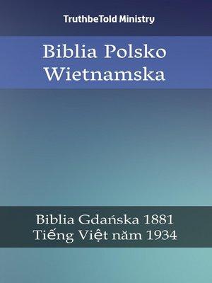 cover image of Biblia Polsko Wietnamska