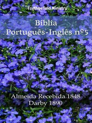 cover image of Bíblia Português-Inglês nº5