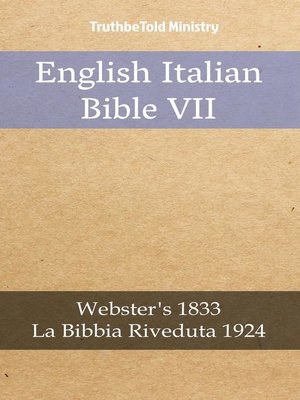 cover image of English Italian Bible VII