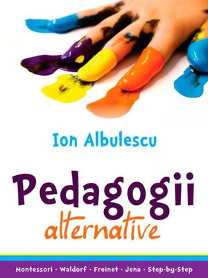 cover image of Pedagogii alternative