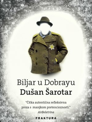 cover image of Biljar u Dobrayu