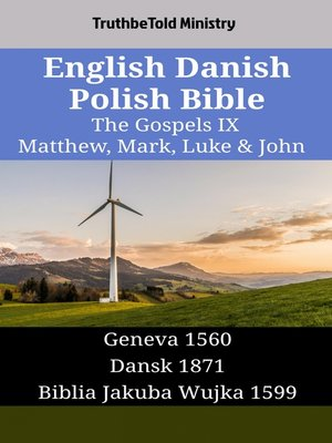 cover image of English Danish Polish Bible - The Gospels IX - Matthew, Mark, Luke & John