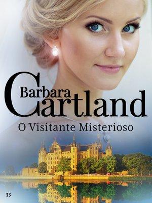 cover image of O visitante misterioso