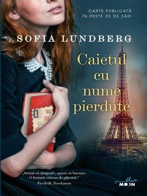 cover image of Caietul cu nume pierdute