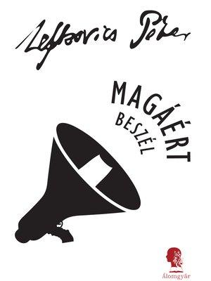cover image of Magáért beszél