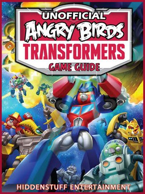 cover image of Angry Birds Transformers Game Guide Unofficial