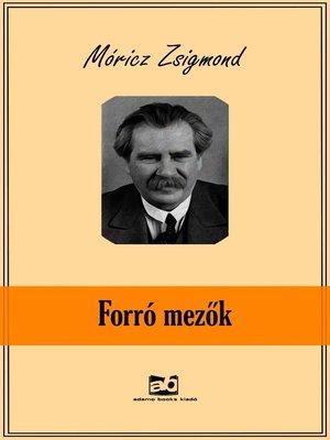 cover image of Forró mezők