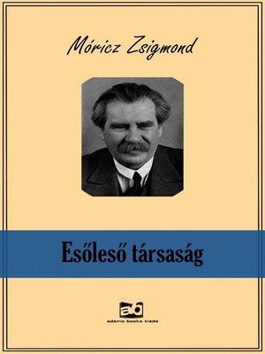 cover image of Esőleső társaság