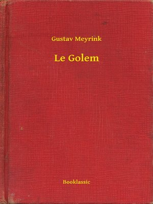 cover image of Le Golem