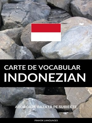 cover image of Carte de Vocabular Indonezian