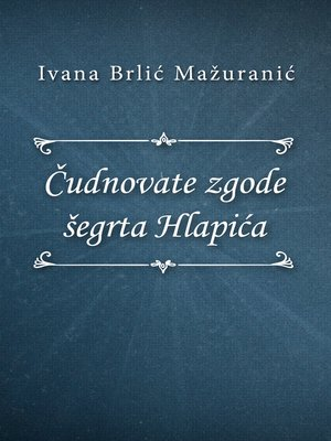 cover image of Čudnovate zgode šegrta Hlapića