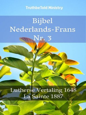 cover image of Bijbel Nederlands-Frans Nr. 3