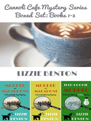 cover image of Cannoli Cafe Mystery Series Boxed Set
