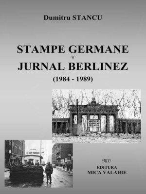 cover image of Stampe germane. Jurnal berlinez
