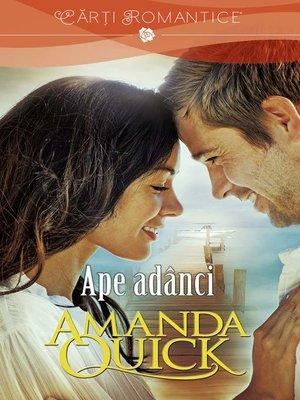 cover image of Ape adânci