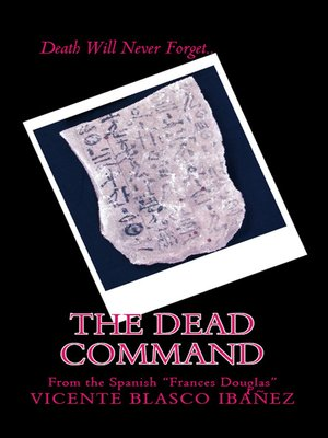 cover image of The Dead Command