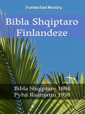 cover image of Bibla Shqiptaro Finlandeze