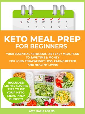 cover image of Keto Meal Prep for Beginners