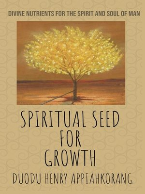 cover image of Spiritual Seed for Growth