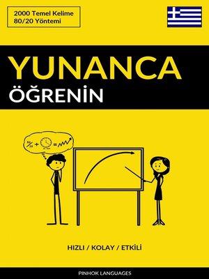 cover image of Yunanca Öğrenin - Hızlı / Kolay / Etkili