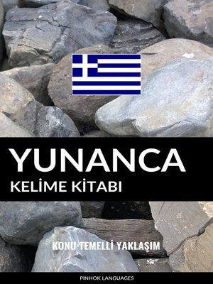cover image of Yunanca Kelime Kitabı