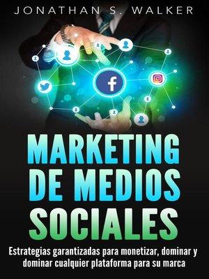 cover image of Marketing de medios sociales