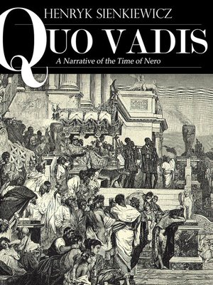 cover image of Quo Vadis: A Narrative of the Time of Nero