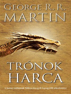 cover image of Trónok harca