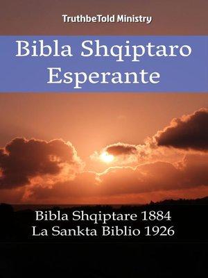 cover image of Bibla Shqiptaro Esperante