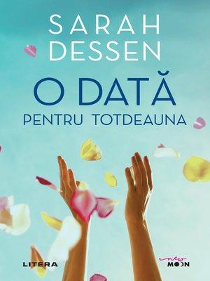 cover image of O data pentru totdeauna
