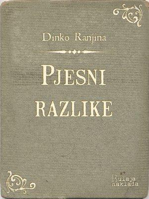 cover image of Pjesni razlike