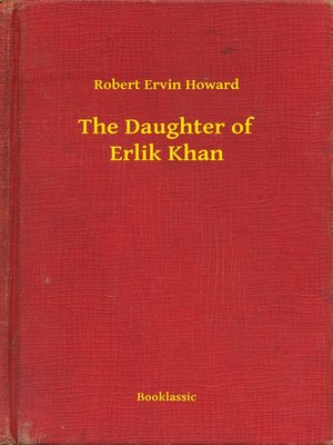 cover image of The Daughter of Erlik Khan