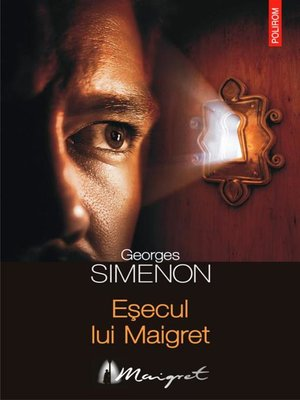 cover image of Eșecul lui Maigret