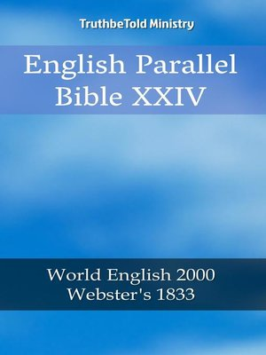 cover image of English Parallel Bible XXIV