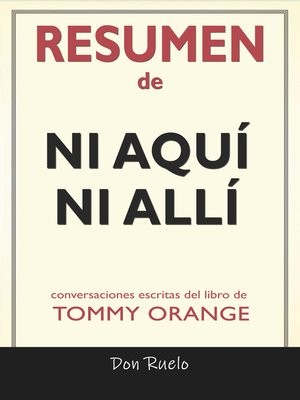 cover image of Resumen de Ni Aquí Ni Allí