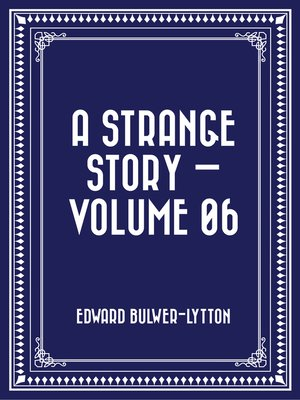 cover image of A Strange Story — Volume 06