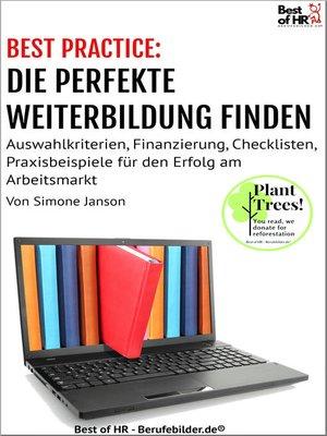 cover image of [BEST PRACTICE] Die perfekte Weiterbildung finden