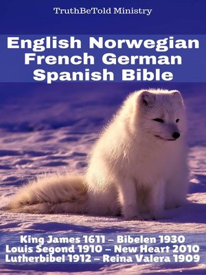 cover image of English Norwegian French German Spanish Bible