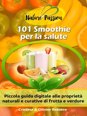 cover image of 101 Smoothies per la salute