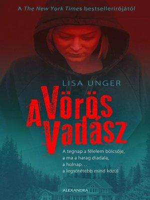 cover image of A vörös vadász